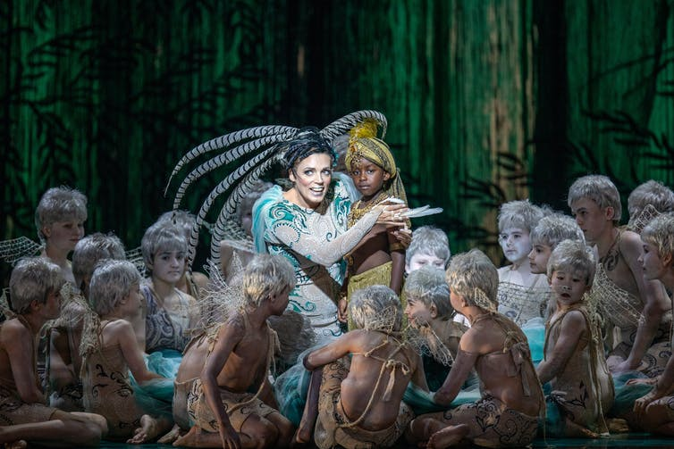 Production image: a group of fairies