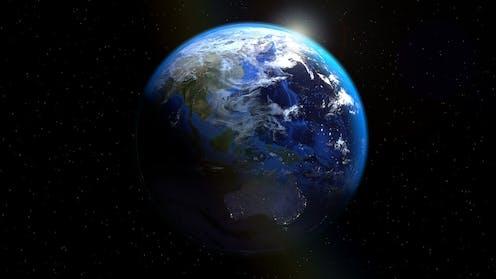 Gambar Bumi dari angkasa