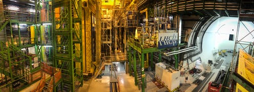 Image of the LHCb experiment at Cern.