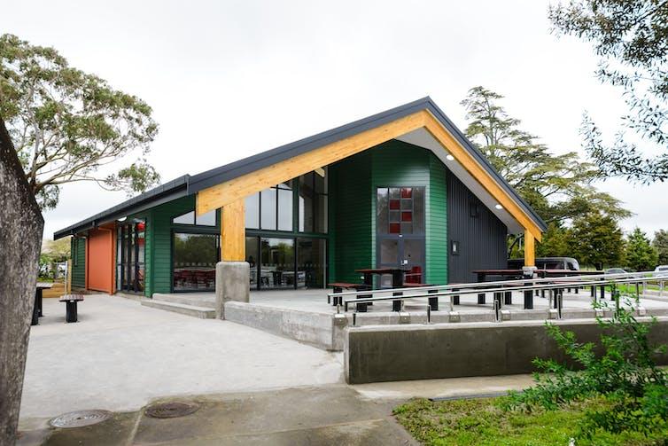 Whare kai building
