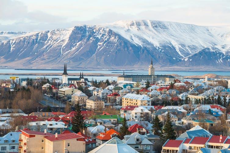 Image of Reykjavik.