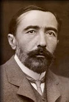 Head and shoulders picture of author Joseph Conrad.