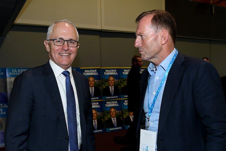 Malcolm Turnbull and Tony Abott