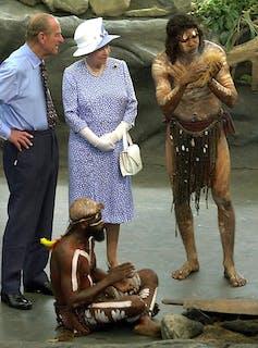 Queen Elizabeth II and Prince Philip 2002