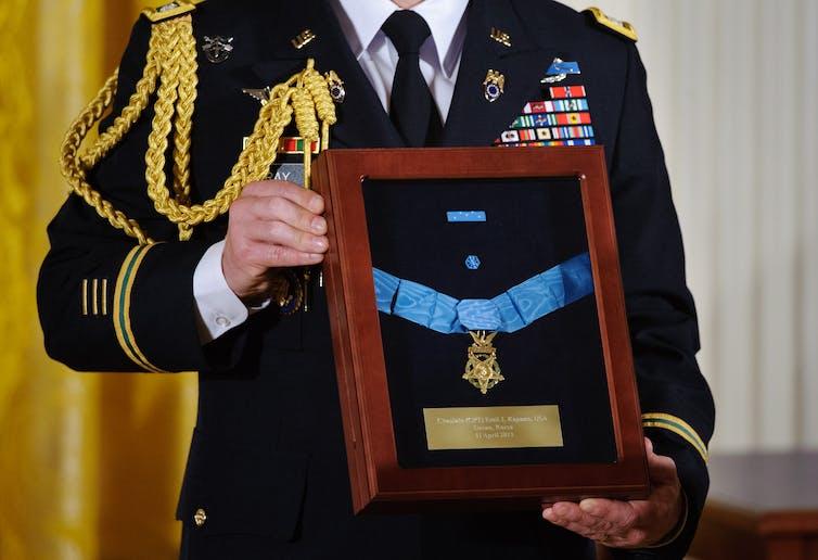 U.S. medal of honor award ceremony in 2013