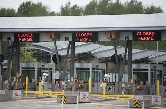 Closed land border crossing