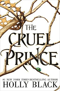 book cover: The Cruel Prince