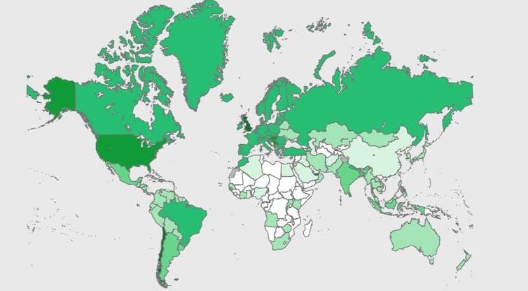 Global vaccine distribution