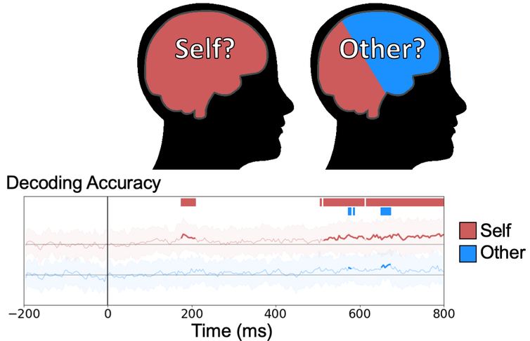 EEG depicts brain waves when thinking about self and other