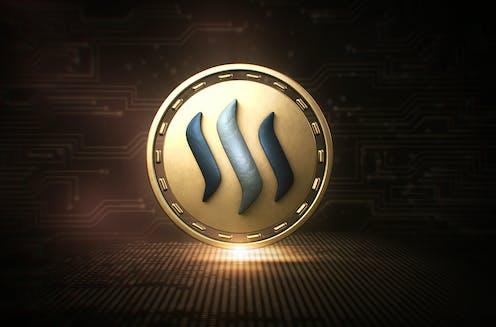 Steem blockchain logo
