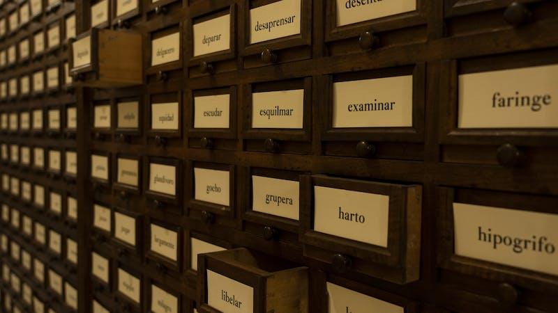 El hispanohablante reconoce 30 000 palabras de media