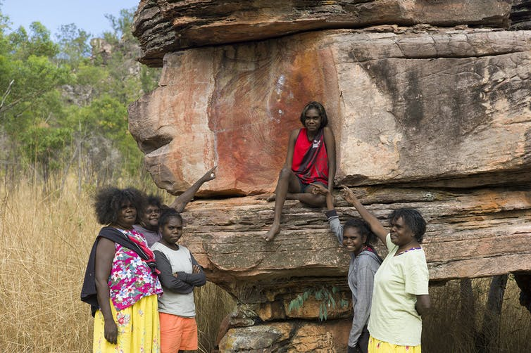 how Aboriginal rock art can live on even when gone