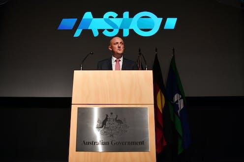 Mike Burgess, head of ASIO