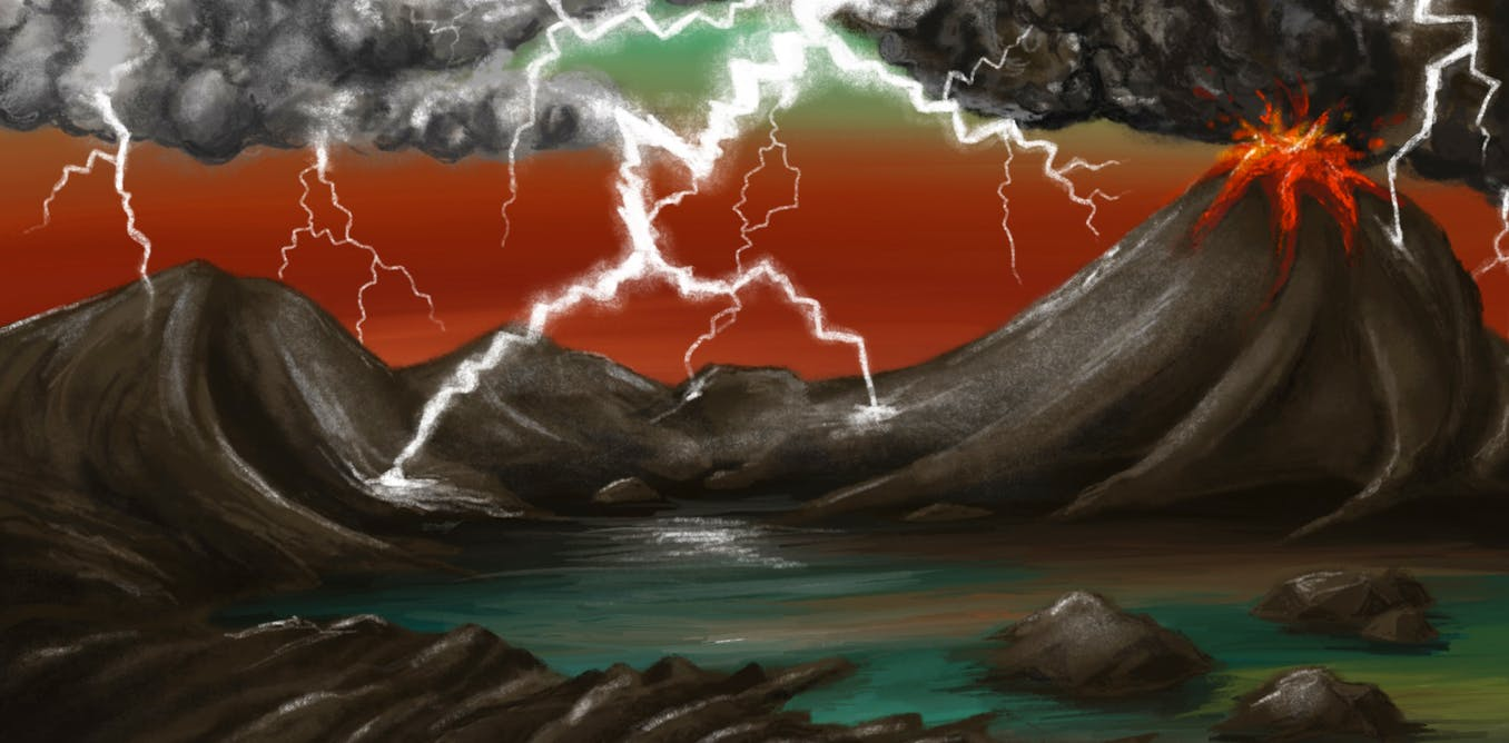 Origin of life: lightning strikes may have provided missing ingredient for Earth's first organisms – The Conversation UK