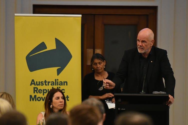 Peter FitzSimons, chair of the Australian Republic Movement.