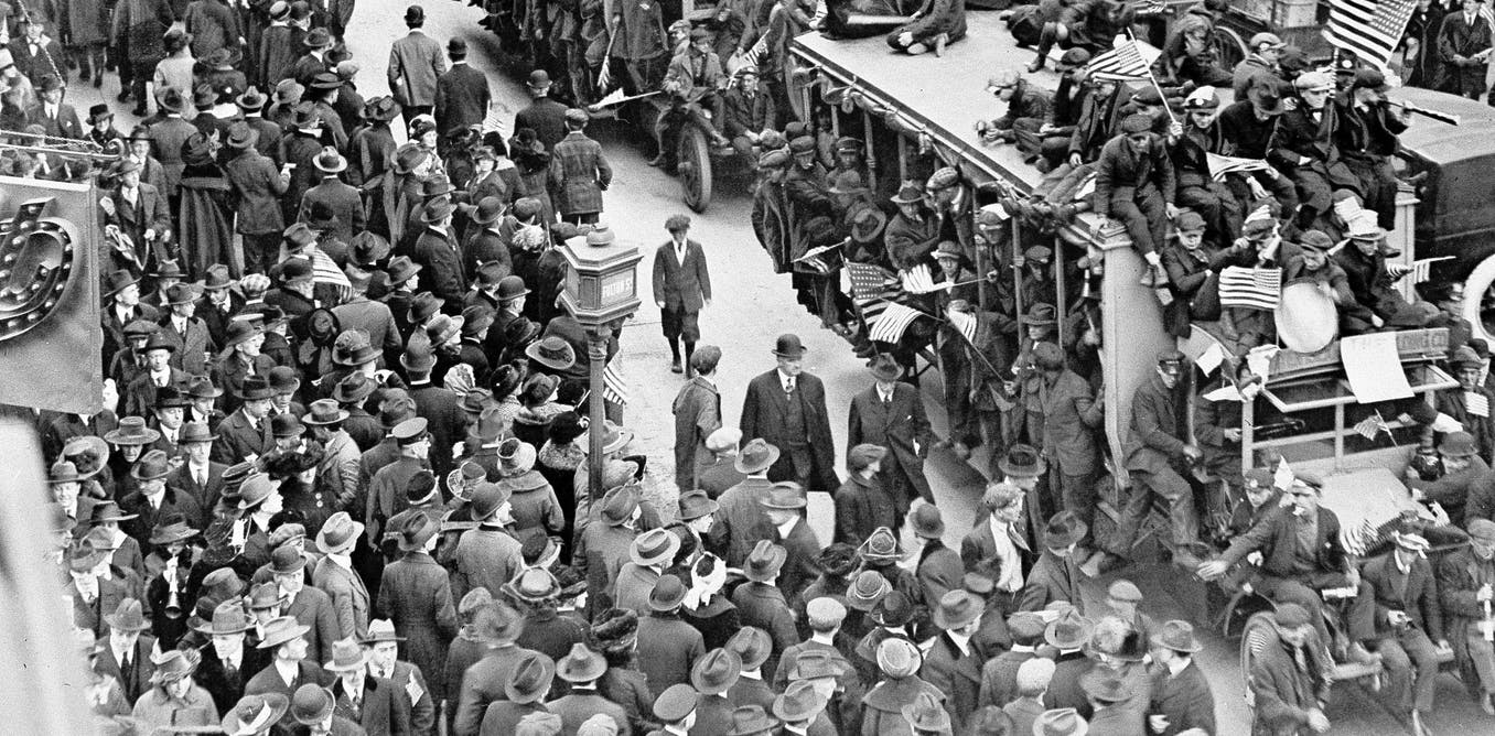 People gave up on flu pandemic measures a century ago when they tired of them – and paid a price – The Conversation US