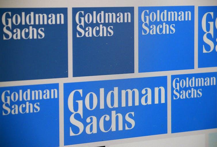 Goldman Sachs posters