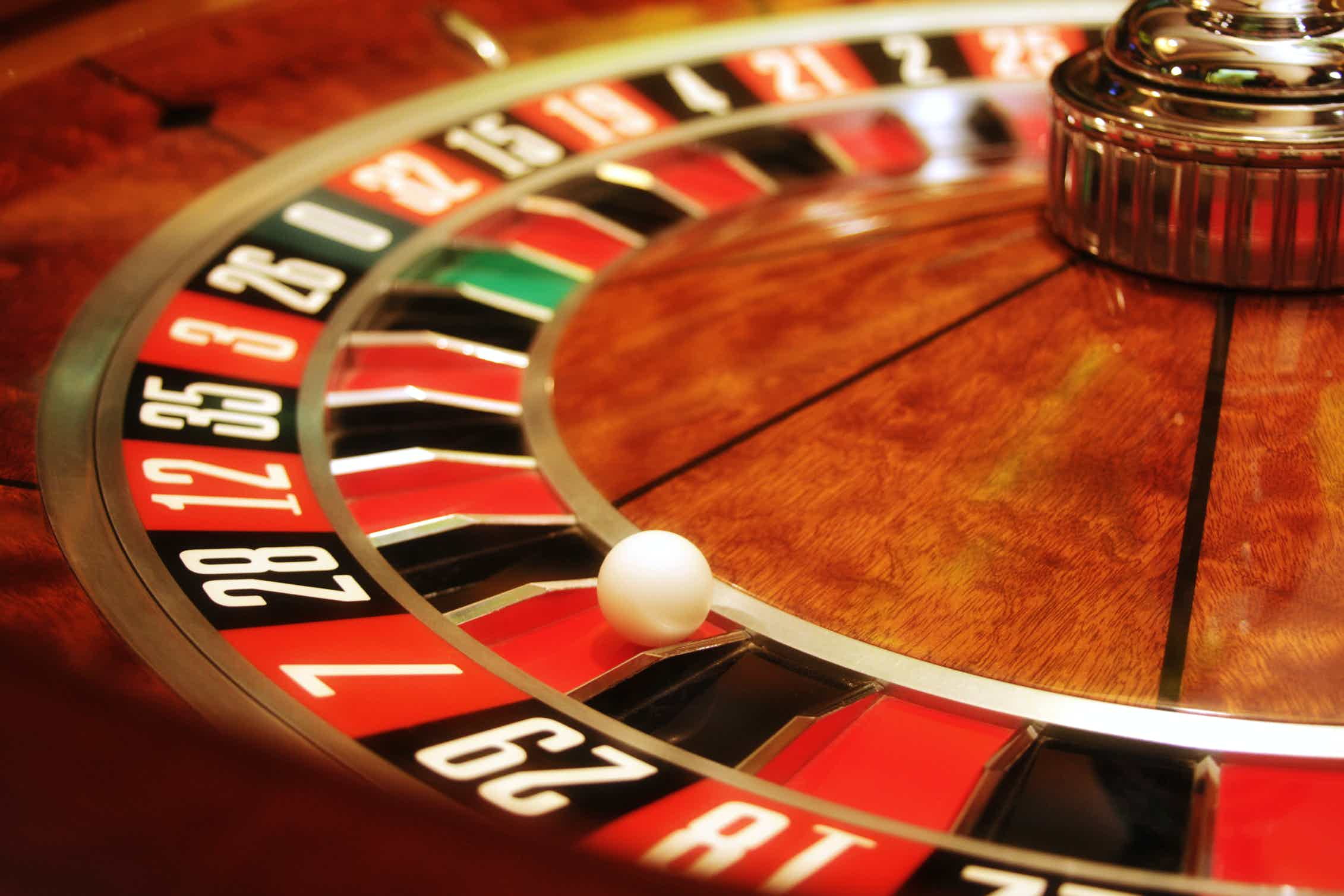 Col rouge nella roulette