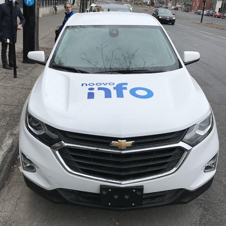 Car de reportage, Noovo.info.