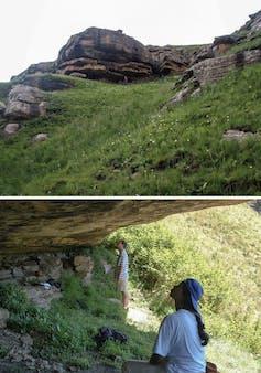 The RSA CHI1 Rock shelter.