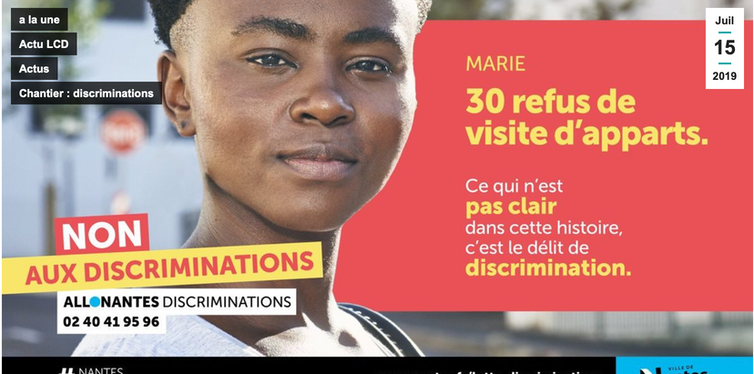 Campagne d'affichage Allo Nantes