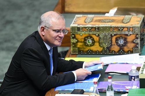 Scott Morrison in the house of representatives
