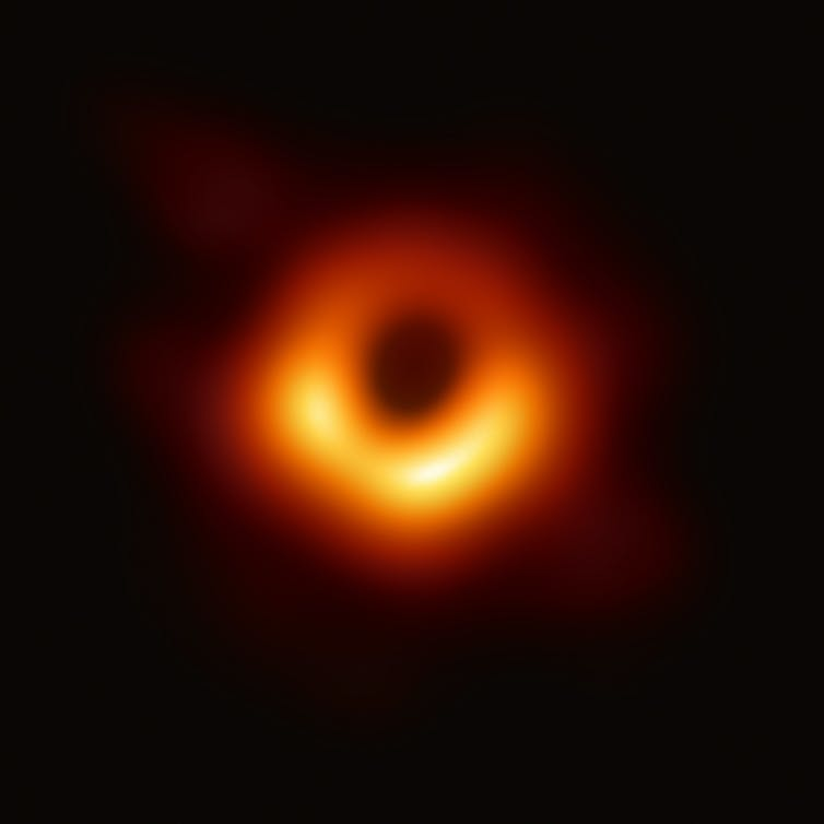 First ever image of a black hole.