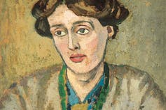 Portrait of Virginia Woolf.