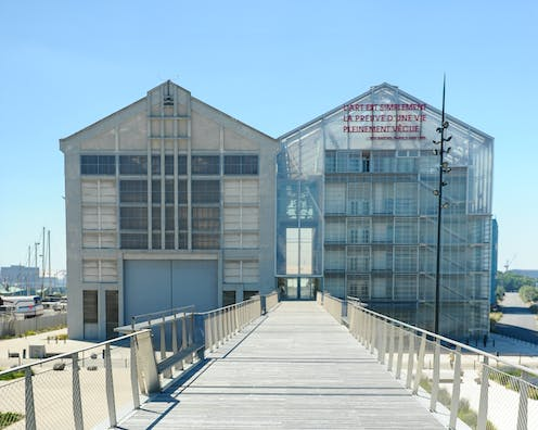 An art centre in the north of France designed by French architects, Lacaton and Vassal