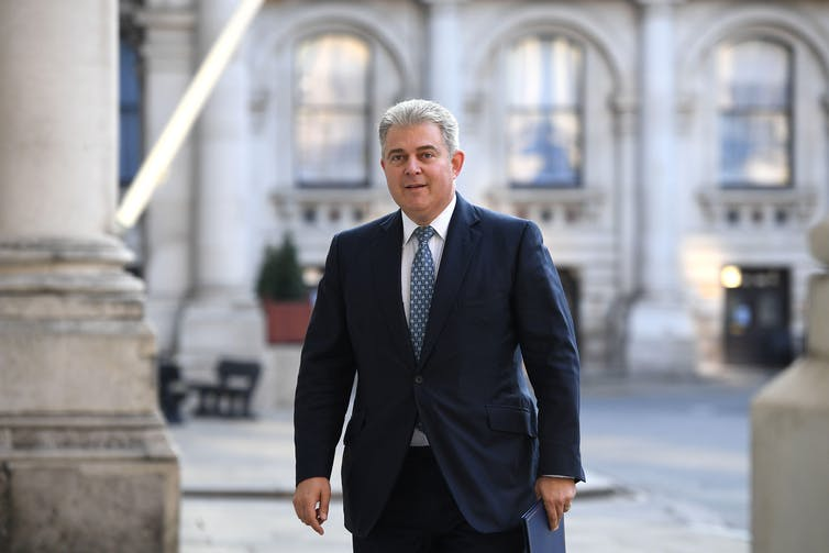 Northern Ireland Secretary Brandon Lewis.