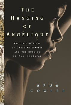book cover of THE HANGING OF ANGELIQUE