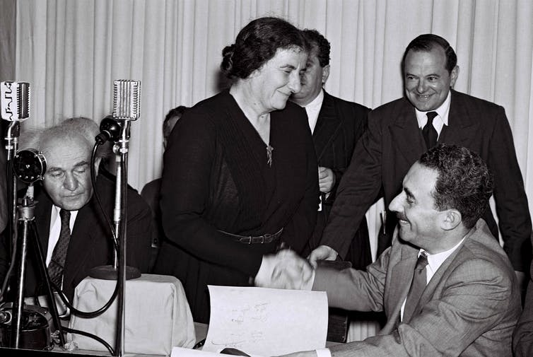 How Golda Meir, Israel's 'Iron Lady', helped establish an independent Jewish state
