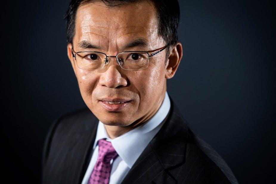 L'ambassadeur chinois à Paris, Lu Shaye.