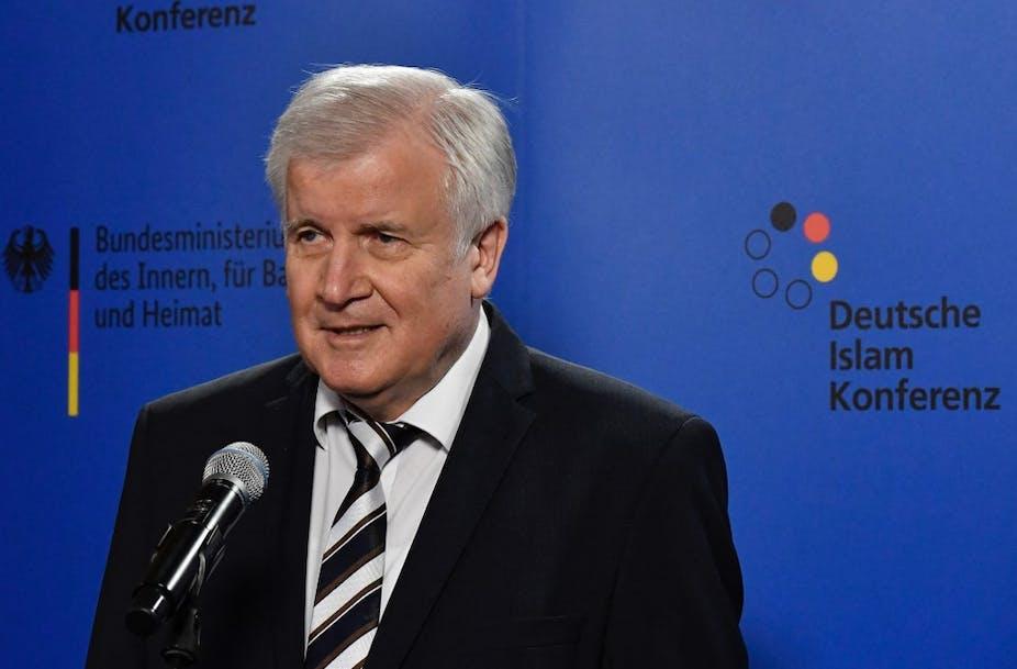 Le ministre allemand de l'Intérieur, Horst Seehofer