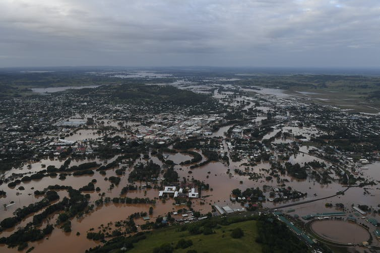 Flooding in the Northern Rivers area in 2017.