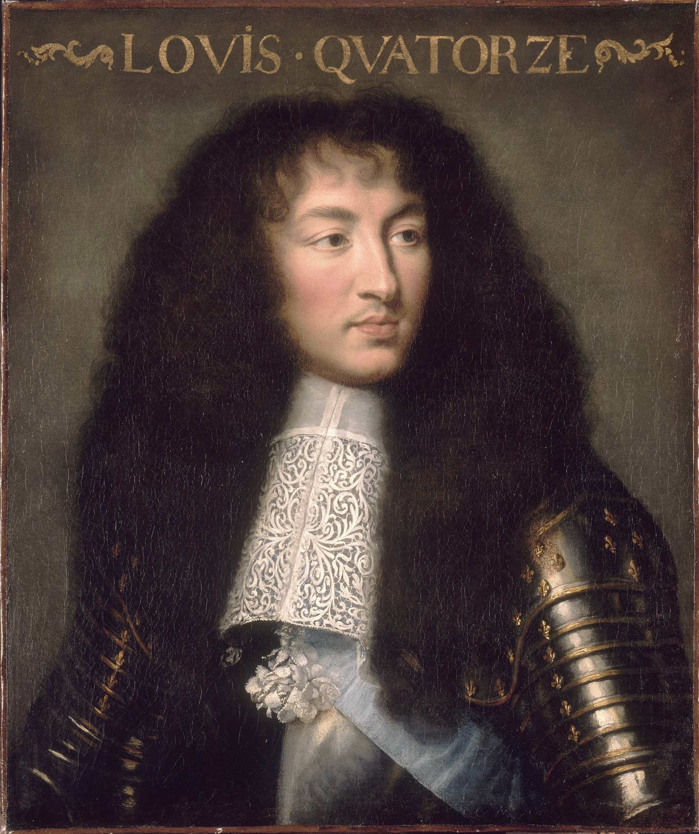 Louis XIV (Charles Le Brun, 1661-1662).Wikimedia Commons