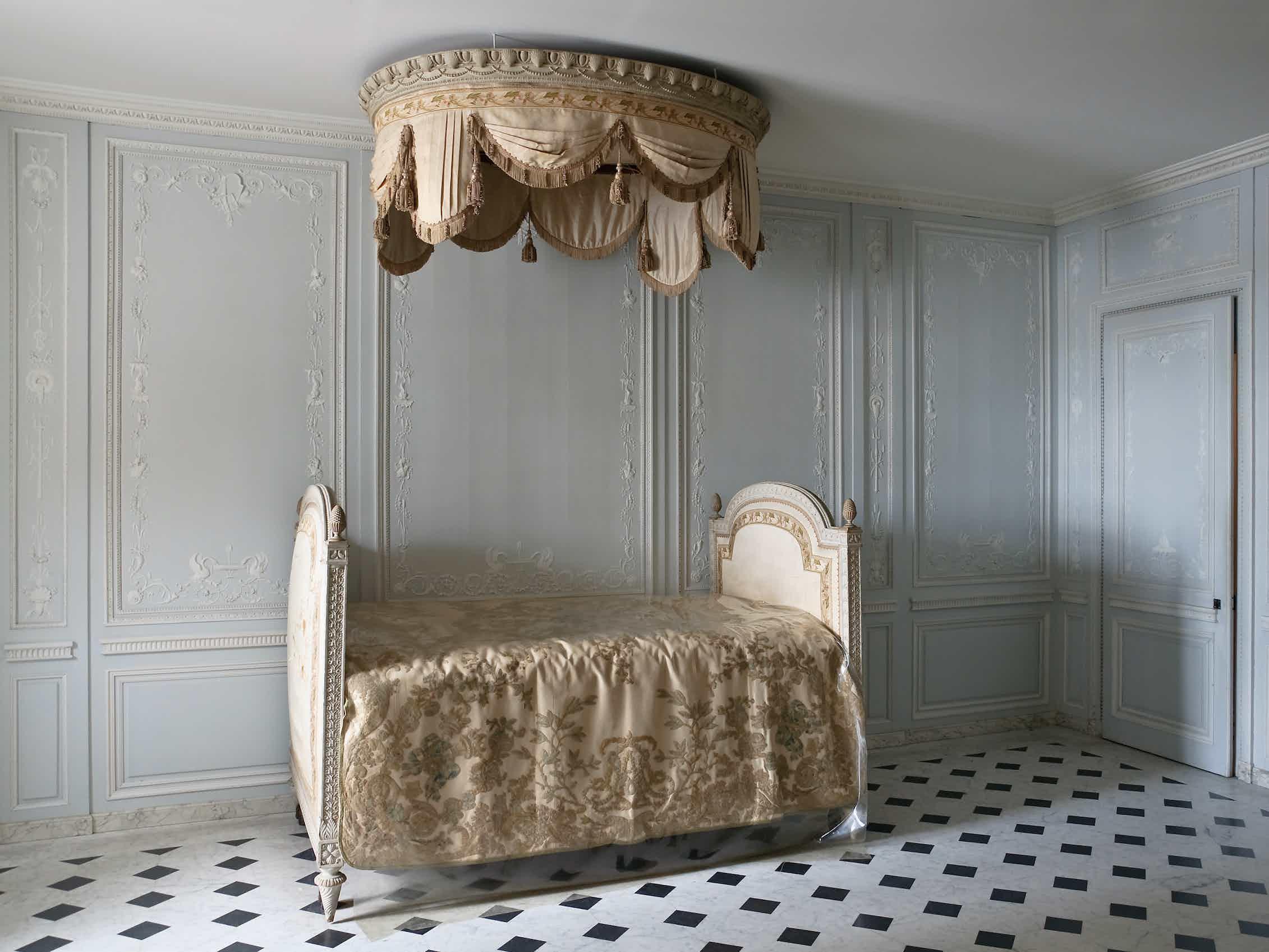 Sala de baño de los aposentos de María Antonieta en Versalles.Wikimedia Commons / Myrabella,CC BY-SA