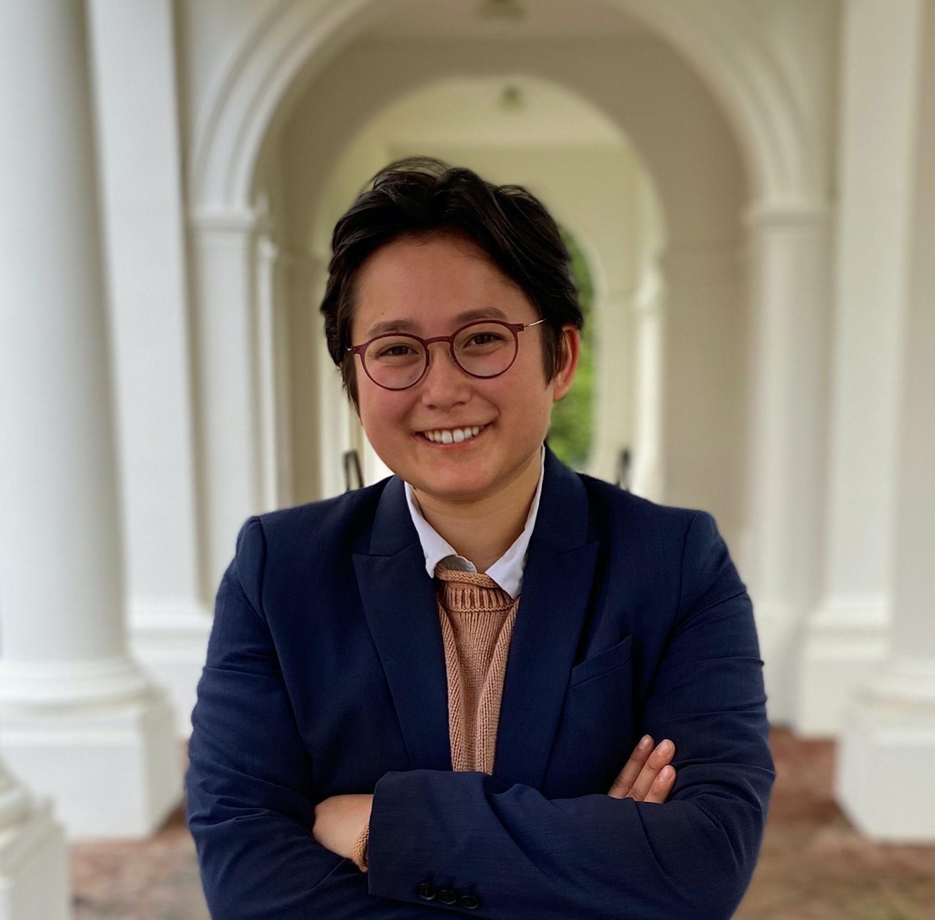 University of Virginia's first transgender student council president, Abel Liu