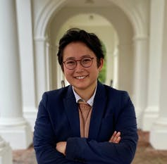 University of Virginia's first transgender student council president, Abel Liu