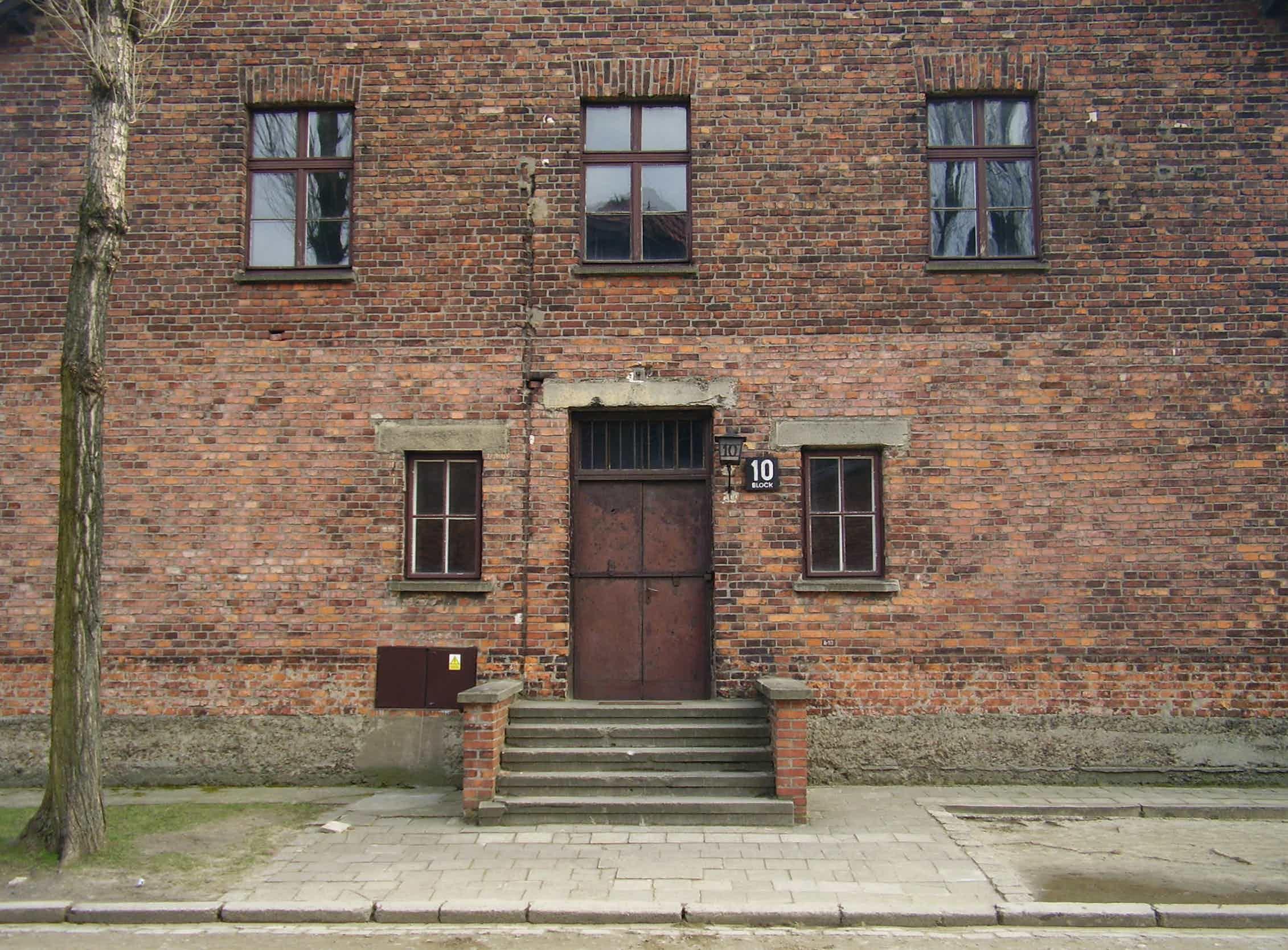 Bloque 10, el pabellón «médico» de Mengele en Auschwitz.Wikimedia Commons / VbCrLf