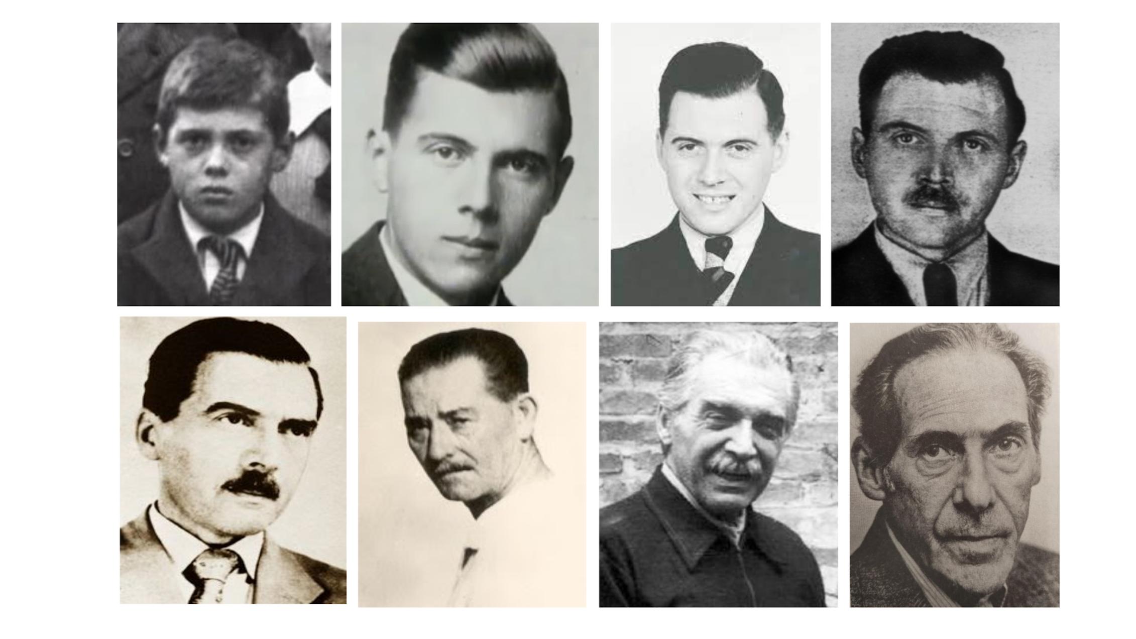 Fotografías de Josef Mengele a lo largo de su vida.Author provided