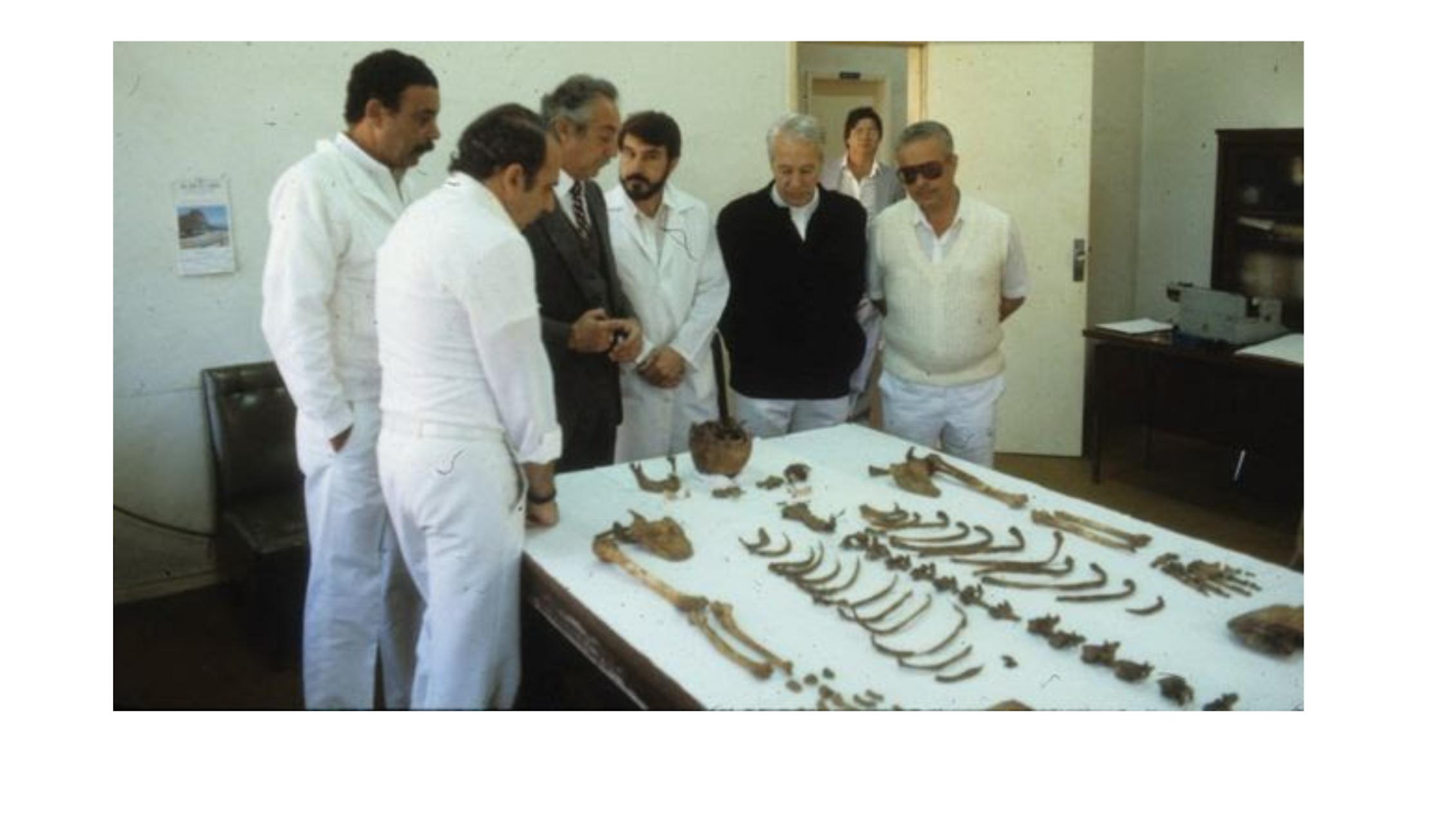 Restos óseos de Mengele en el Instituto de Medicina Forense de Sao Paulo.Author provided