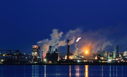 Steel plant in Hamilton, Ont.
