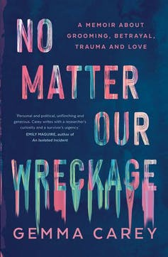 book cover: No matter our wreckage
