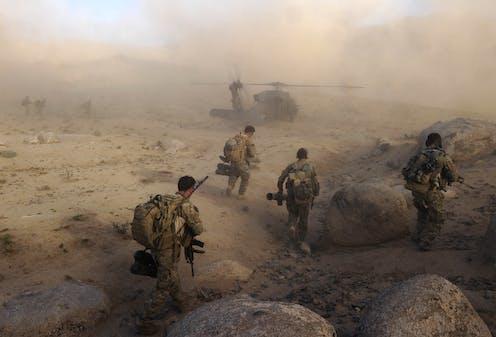 Australian soldiers in Kandahar in 2013.