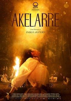 Akelarre film poster.