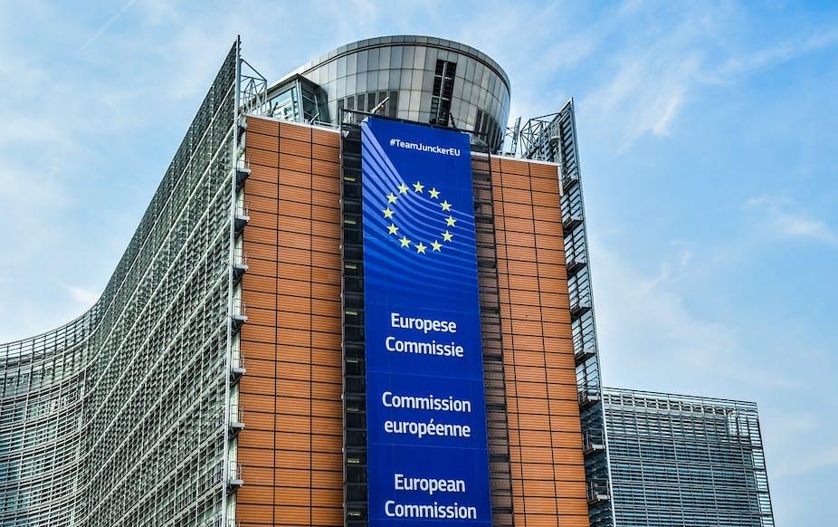 European Commission headquarters in Brussels, Belgium.