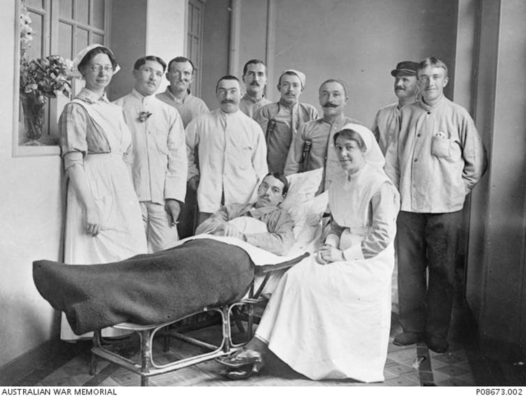 'I want to scream and scream': Australian nurses on the Western Front were also victims of war