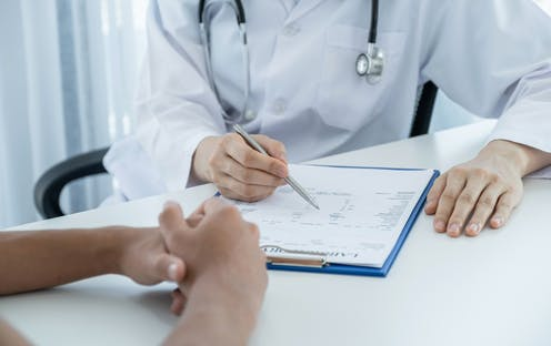 Consultation with a medical doctor