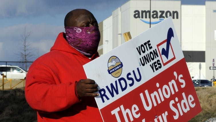 why the cards were stacked against a union at Amazon